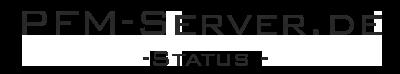PFM-Server.de - Server Status