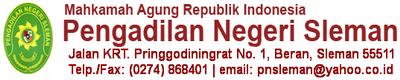 Monitor Web PN Sleman Status
