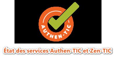 État des services Zen-TIC Status