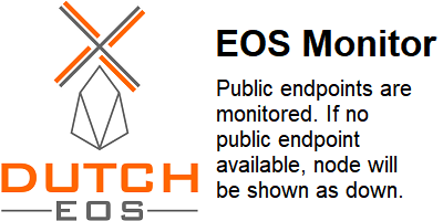 EOS Monitor (by DutchEOS) Status